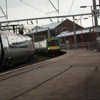Wolverhamton Rail,Class  170 632, Вулвергемптон