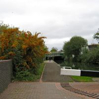 Birmingham Canal Main Line looking towards Gorsebrook Bridge, Вулвергемптон