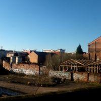 view from the train, Вулвергемптон