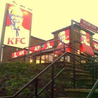 KFC, GLOSSOP, DERBYSHIRE, ENGLAND, UK, Глоссоп