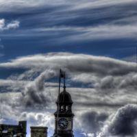 Glossop Town Hall Clock, Глоссоп