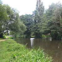 River in Godalming, Годалминг