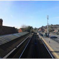 Farncombe rail towards London, Годалминг