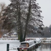 19-01-2013. Godalming: Wey Navigation., Годалминг