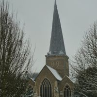 19-01-2013. Parish church, Godalming., Годалминг