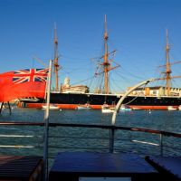 #82 The Colours of Britain ~ UK ~ HMS Warrior ~ Portsmouth Harbour, Госпорт