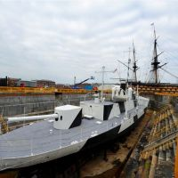 M33 and HMS Victory ~ Portsmouth, Госпорт