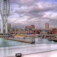 Gunwharf Quays, Portsmouth, Госпорт