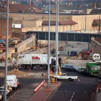 Grimsby New Underpass Being Built pasture Street, Гримсби