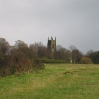 Church of St. Andrew at Netherton from Netherton Hill, Дадли