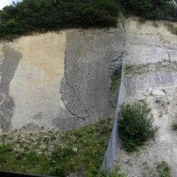 Ripple marks (formed 420 million years ago)