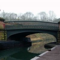 The bridge at the Black Country Museum, Дадли
