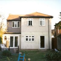Extension in Dartford, Kent by S M Berry Building Contractors Ltd, Дартфорд