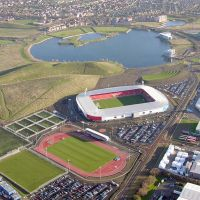 Keepmoat Stadium Complex next to Yorkshire Outlet and lakeside, Донкастер