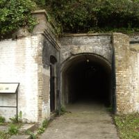 Inner Entrance to Napoleonic Grand Shaft, Snargate Street, Dover, Kent, UK, Дувр