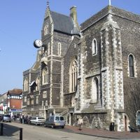 Victorian Dover Town Hall, Biggin Street, Kent, England, United Kingdom, Дувр