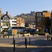 Market Square and Castle Street, Dover, Kent, England, United Kingdom, Дувр