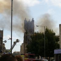 St. Columba Church 2007 Fire, High Street, Dover, Kent, United Kingdom, Дувр