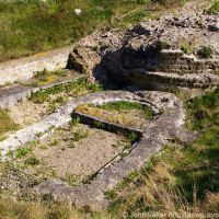 Roman Navy Classis Britannica Fort and Saxon Shore Fort Ruins, Dover, Kent, UK, Дувр