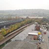 Batley Train Station (Looking towards Dewsbury), Дьюсбури