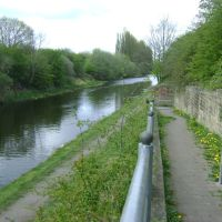 Calder & Hebble Canal Off Slaithwaite Road., Дьюсбури