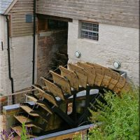 Exeter - The New Mill Wheel, Ексетер