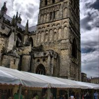 Exeter Craft fair - obvious HDR, Ексетер