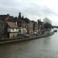 River Ouse from Ousegate Bridge, York, Йорк