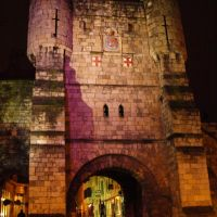 medieval gateways (Bootham Bar), Yorks, Йорк