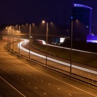 M6 Toll at Night, Каннок