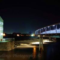 Castleford Bridge at night 2, Кастлфорд