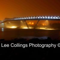 Castleford Footbridge In Fog, Кастлфорд