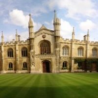 180 degree view - Corpus Christi College, Кембридж