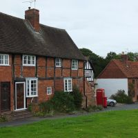 Old cottages, Castle Green near Kenilworth Castle., Кенилворт