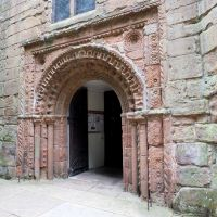 Kenilworth Parish Church ancient doorway.(St Nicholas), Кенилворт