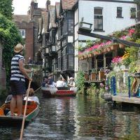 Canterbury: Nel canale vengono organizzate uscite in barca, Кентербери