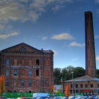 Kidderminster - restored mill, Киддерминстер