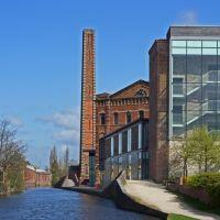 Converted Slingfield Mill, Kidderminster, Киддерминстер