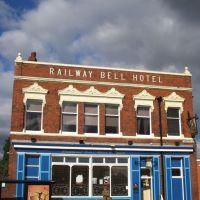 The Railway Bell Hotel built c1850, Киддерминстер