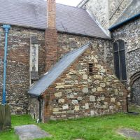 114. can you count how many different types of brick/stone there is in this picture. all saints church, kings lynn, norfolk. aug. 2011., Кингс-Линн
