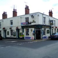 120. the crossways public house. kings lynn, norfolk. aug. 2011., Кингс-Линн