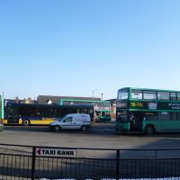 1138. kings lynn bus station. kings lynn, norfolk. feb. 2012., Кингс-Линн
