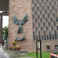 Az új, katolikus templom, Coventry, ami adakozásból épült., Ковентри