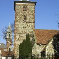 The Saxon built Holy Trinity Church, Колчестер