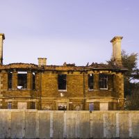 Corby Manor House, After The Fire., Корби