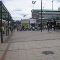 Corby market square, Корби