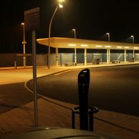 Electric Vehicle Charging Points at Corby Station, Корби