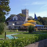 Christchurch quay and Priory, Dorset, Кристчерч