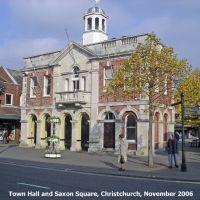 Town Hall, Christchurch, Кристчерч