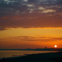 Southbourne Beach Sunset, Кристчерч